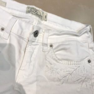 Lucky Brand white jeans shorts